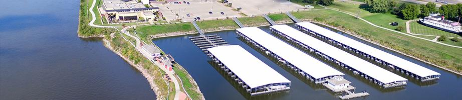 Sioux City Marina Aerial Photo